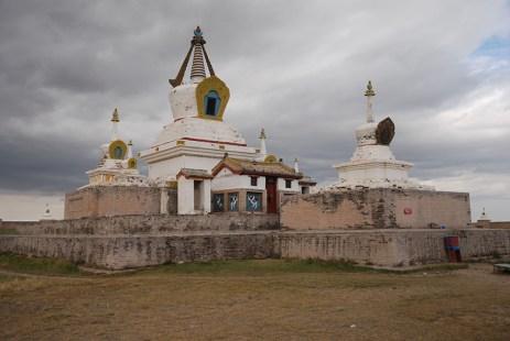 Erdene zuu klooster Kharkhorin stupa Mongolië