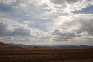 Orkhon valley nationaal park Mongolië uitzicht