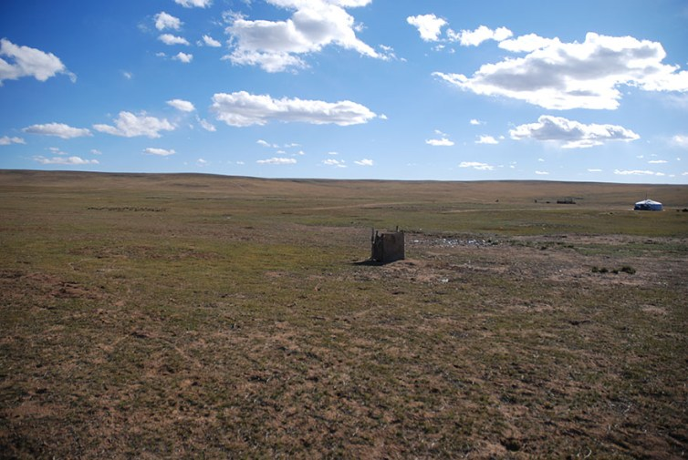 Wc Ugii lake Mongolië