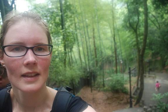 Huangshan Gele bergen bijna beneden! Els op Reis