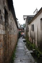 Hongcun Huizhou dorp straatjes