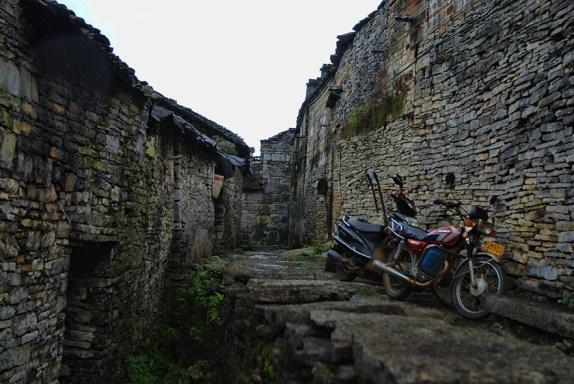 Ancient stone village Yangshuo