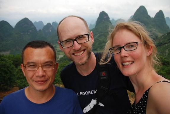 Autorit van Guilin naar Yangshuo Jerry Gregory Els