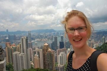 Victoria peak Hong Kong Els op Reis