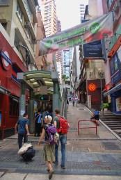 Hong Kong langste roltrap