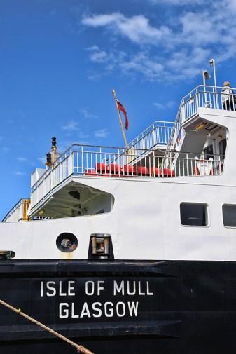 Ferry naar de Isle of Mull