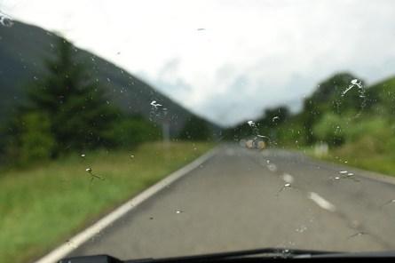 Regen in Schotland