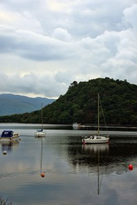 Loch Lomond in Schotland