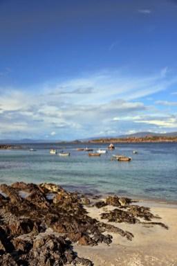 Strand van Iona Schotland