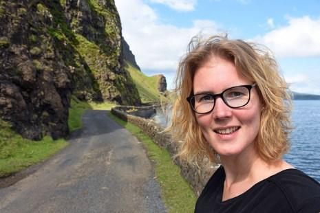 Landschap Ilse of Mull selfie