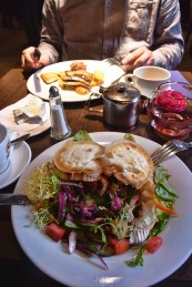 Lunch Oran Mor Glasgow
