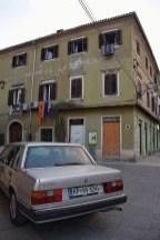 Straat in Koper Slovenië