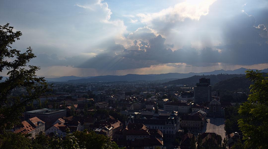 Bled en Ljubljana Slovenië