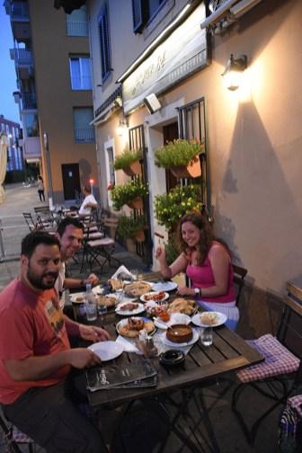 Eten in Koper bij Sarajevo 84