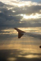 Noordzee vanuit de lucht