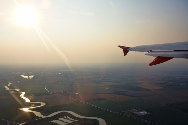 Vlucht van Venetië naar Schiphol met Easyjet