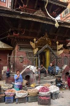 Kathmandu Thamel markt
