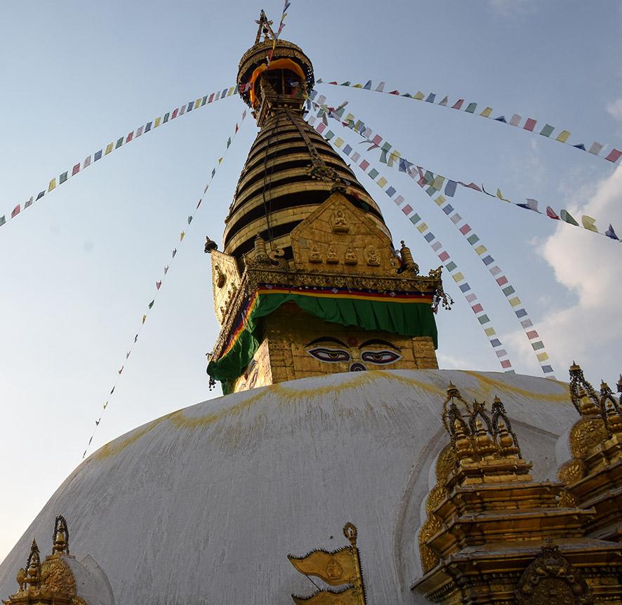 Swayambhu tempel Kathmandu