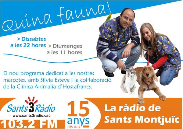 """Programa de Ràdio """"Quina Fauna!"""" Els Magnífics, entrevistats!"""