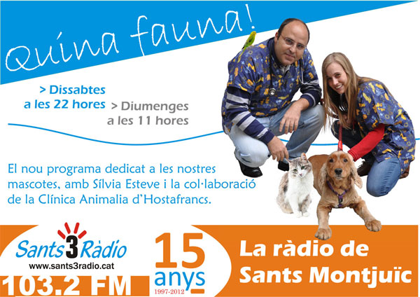 Programa de Ràdio «Quina Fauna!» Els Magnífics, entrevistats!