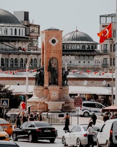 ميدان تقسيم في تركيا