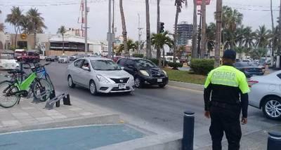 """Resultado de imagen de Tráfico lento sobre avenida Del Mar por obras en la Rafael Buelna"""""""