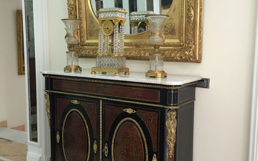 Restauración Buffet Emperador Andrés Boulle