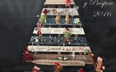 Arbol de Navidad de madera *