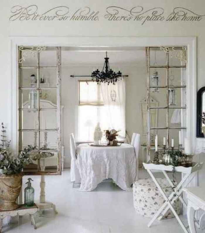 Shabby chic white blanco el taller de lo antiguo for Muebles shabby