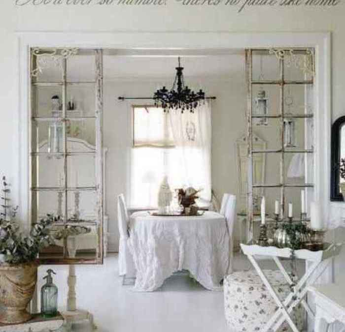 Shabby Chic White Blanco
