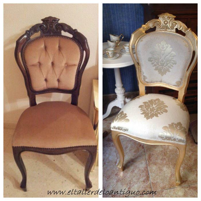 12-doramos-una-silla-con-papel-de-oro