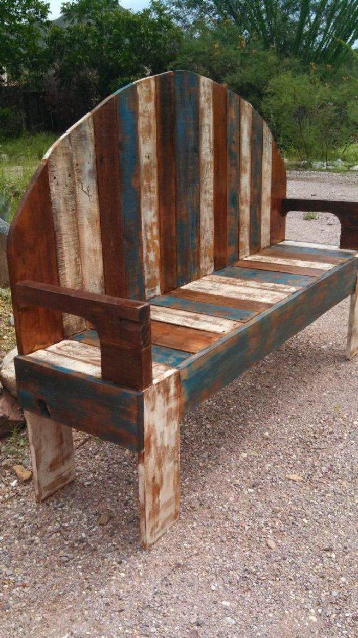 Construir muebles con palets el taller de lo antiguo for Muebles de jardin de palet