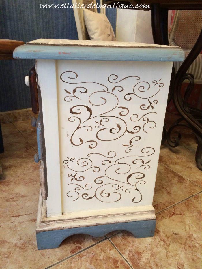 Pintar muebles de pino miel  El Taller de lo Antigu