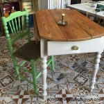 Pintar una mesa tocinera