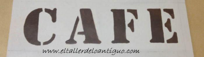 Como Pintar Con Plantillas De Letras El Taller De Lo Antiguo