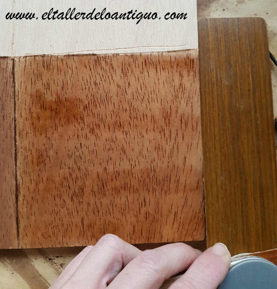 Receta tradicional de tintes para madera el taller de - Tinte para madera casero ...