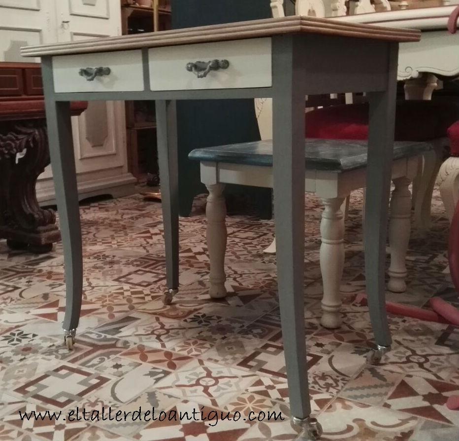 5 Pasos Para Pintar Los Muebles De Cocina El Taller De Lo Antiguo ~ Como Pintar Un Mueble De Cocina