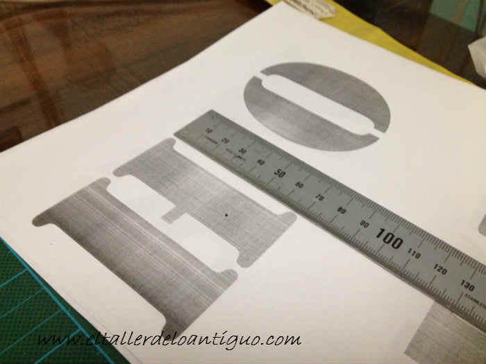 como hacer plantillas de letras