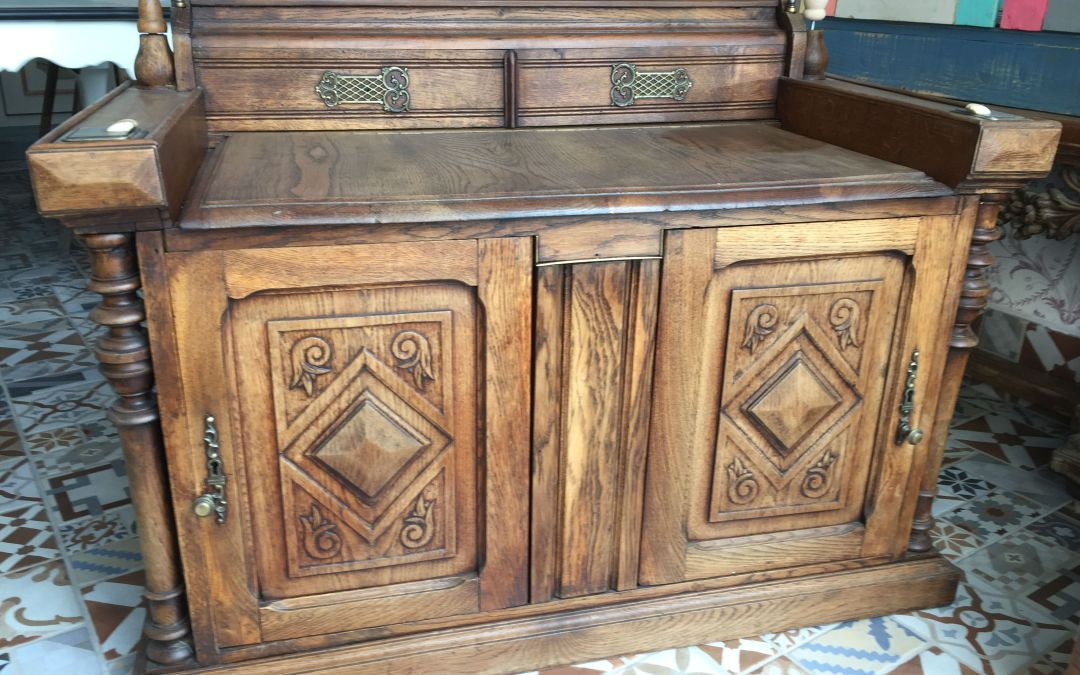 Restauración de madera de Roble - **El Taller de lo Antiguo