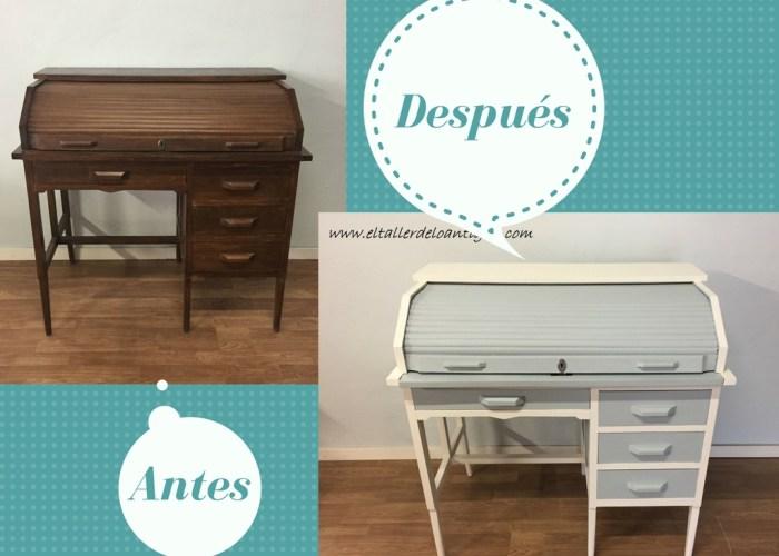 Pintar mueble t cnica decapado - Modernizar muebles antiguos ...