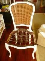 Como tapizar silla de Muelles