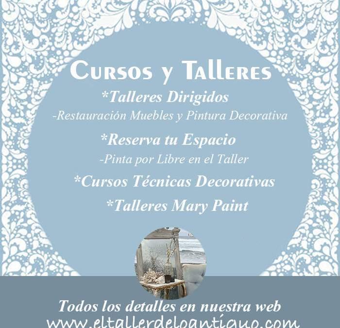 Cursos de Restauración de Muebles Alicante Restaura y recupera, pinta y aprende en el Taller de lo Antiguo