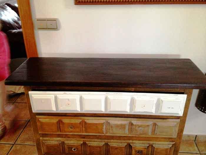 Como modernizar un mueble excellent muebles clsicos - Modernizar muebles antiguos ...