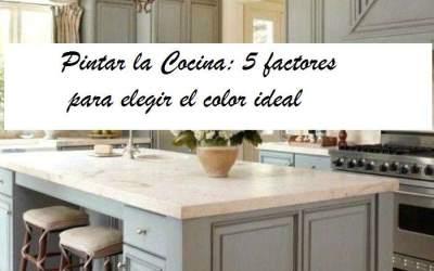 Pintar Cocina: 5 factores para elegir el color