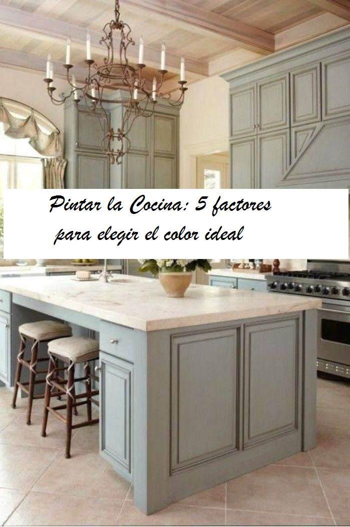 Pintar cocina 5 factores para elegir el color el - Pintar encimera cocina ...