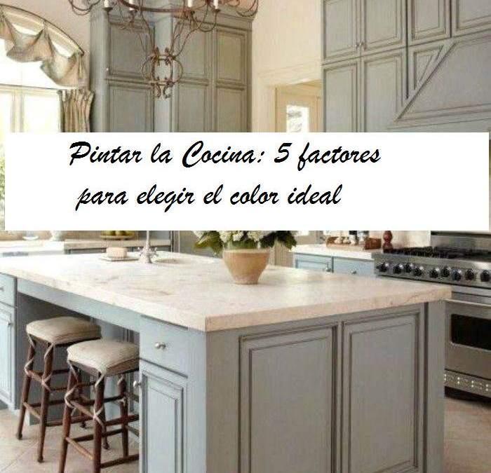 Pintar Cocina: 5 factores para elegir el color - **El Taller ...