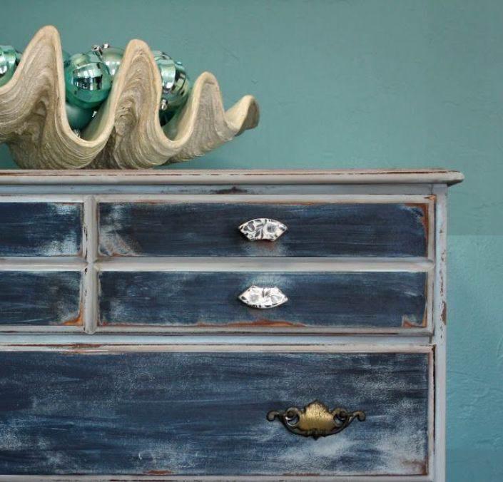 Decoraci n como renovar tus muebles con pintura cap 1 - Muebles pintados en plata ...