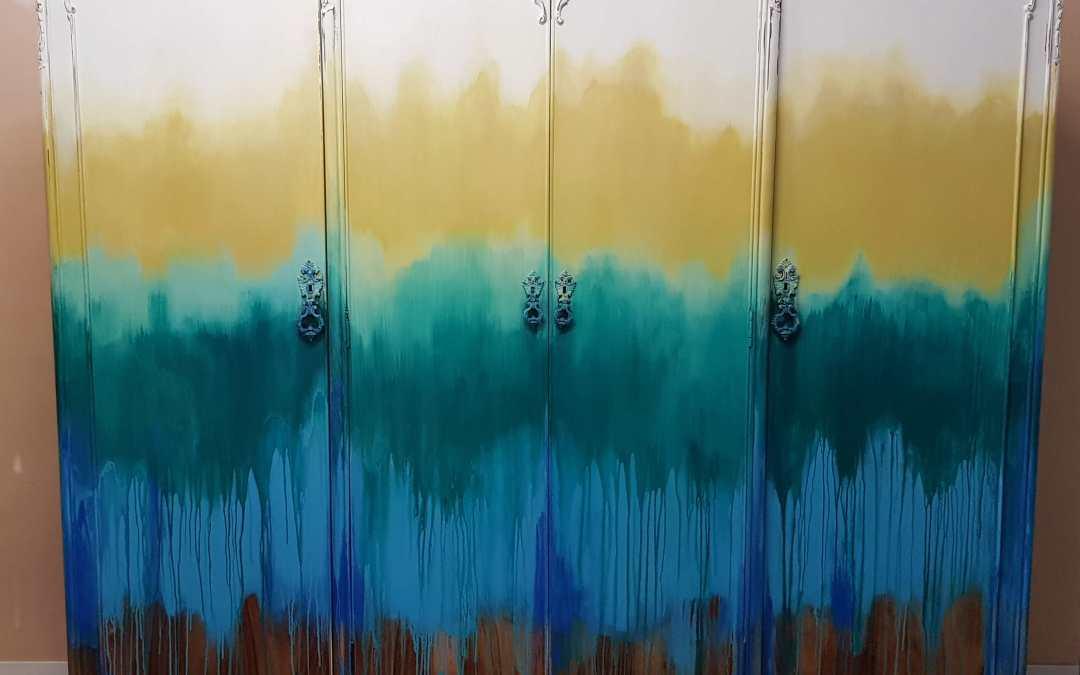 Pintar Armario Boho chic Style Color