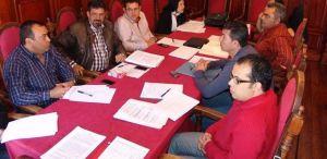 Los alcaldes de La Gomera en una reunión anterior