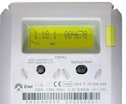 Contador electricidad